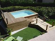 idee terrasse avec piscine hors sol mailleraye fr jardin
