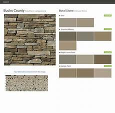 bucks county southern ledgestone cultured stone boral stone behr sherwin williams ralph