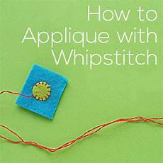 how to applique how to applique with whipstitch a tutorial shiny