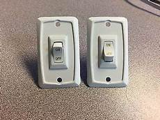 rv 12 volt wall light switch cargo trailer new 4 gi cer motorhome 10 49 picclick