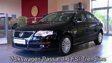 Volkswagen Passat 1 6 Fsi Trendline 2006 Schwarz 154601