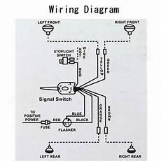 chrome 12v universal street rod turn signal switch for ford buick gm sale banggood com