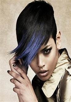 best image of african american feathered bob hairstyles