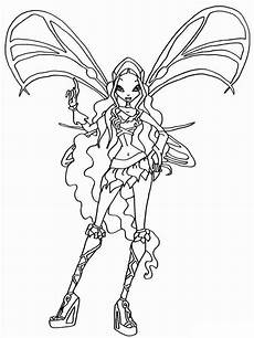 layla winx coloring pages and print layla winx