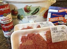 crock pot cubed steak dinner_image