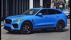 2019 jaguar f pace svr features design interior and