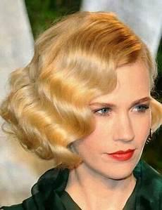 1920 s finger wave bob hairstyle wedding hair vintage short hair vintage hairstyles short