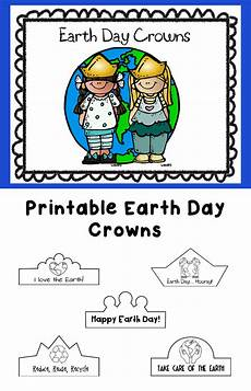 free printable earth science worksheets for kindergarten 13299 earth day printable crowns earth day earth day activities earth day worksheets