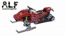 Lego Technic Build by Lego Technic 8272 Snowmobile Lego Speed Build Review