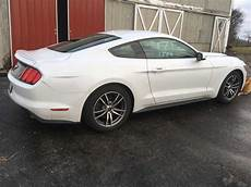 generation 6 mustang 6th white 2016 ford mustang ecoboost premium for sale