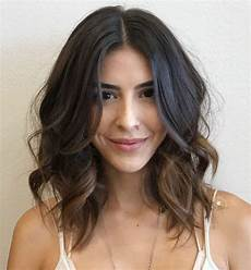 20 best of loosely waved messy brunette bob hairstyles