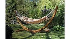 support de hamac bois support hamac en bois arc