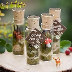 faerie terrarium wedding favors for a woodland wedding