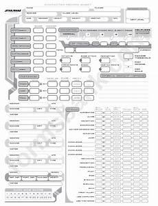 star wars saga edition character sheet printable pdf download