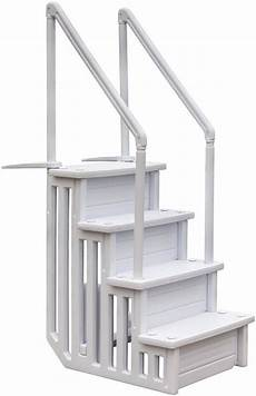 gre pool treppe 187 easy entry synthetic 171 bxh 50 x 206 cm