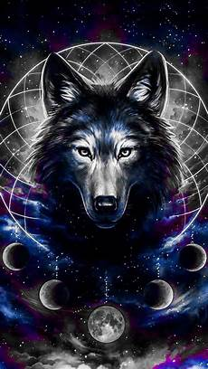 Wallpaper Galaxy Aesthetic Wolf by Wolf Drawing Wallpaper By Wildwolf0524 Fe