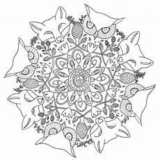 Herbst Ausmalbilder Mandala Herbst Mandalas F 252 R Kinder Zum Ausdrucken Und Ausmalen