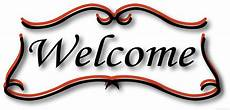 Free Welcome Clipart Image