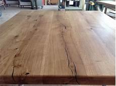 Holzrisse Füllen Harz - tischplatte eiche massiv tischplatte massiv eiche