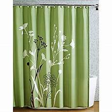 shower curtains with green beautiful green brown bird nature modern