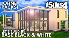 sims 4 häuser bauen die sims 4 haus bauen ohne packs base black white 1