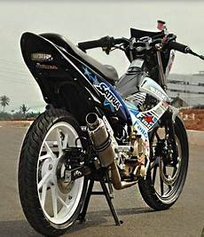 Satria Fu Modif Touring by Suzuki Satria Fu Modif Road Race Trail Dan Touring
