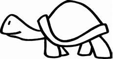 Einfache Malvorlagen Kostenlos Einfache Schildkroete 2 Ausmalbild Malvorlage Tiere