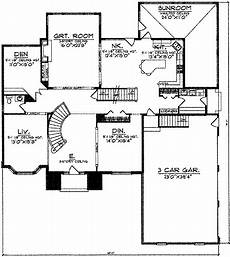 spacious two story home plan spacious two story traditional home 8940ah