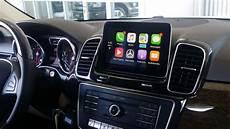 apple carplay mercedes how apple carplay works in a mercedes gle350