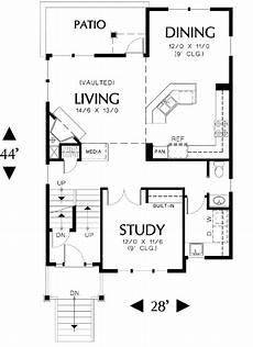 house plans for hillsides hillside home with optional version 69187am