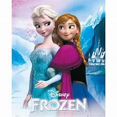 frozen and elsa mini poster 40 x 50cm merchandise