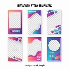 instagram stories template vector free