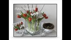 Deko Mit Tulpen - diy wurzel fr 252 hlings deko tischdeko mit tulpen deko