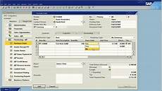 sap business one how to manage purchasing and sales units