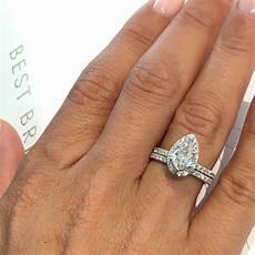 14k white gold diamond engagement wedding ring 1 25