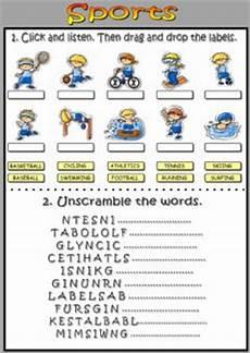 sport worksheets intermediate 15809 exercises sports