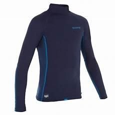 olaian thermo shirt langarm surfen uv schutz fleece kinder