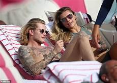 Loris Karius Enjoys Miami With