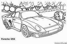 Malvorlagen Auto Porsche Malvorlagen Porsche 959