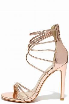 high heels gold sandals metallic heels 37 00
