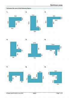 shapes worksheets ks4 1159 ks3 area and perimeter compound shapes teachit maths