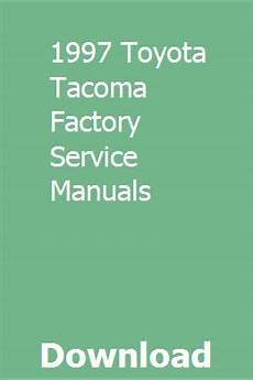 auto repair manual online 1997 toyota tacoma lane departure warning 1997 toyota tacoma factory service manuals 1997 toyota tacoma toyota tacoma toyota