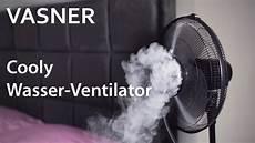vasner cooly standventilator der ventilator mit wasser
