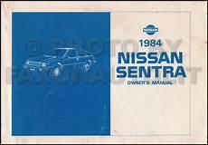 automotive repair manual 1993 nissan sentra user handbook 1984 nissan sentra owners manual original oem owner user guide book ebay