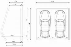 longueur garage 2 voitures merveilleux dimension garage 2 voitures carport6054 the
