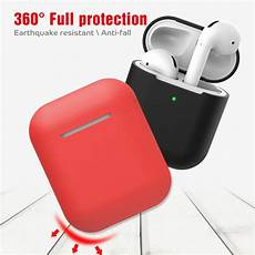 Bakeey Silicone Shockproof Dirtproof Earphone Storage by Other Portable Audio Visual Bakeey Silicone Shockproof