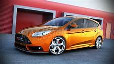 front splitter smooth ford focus st mk3 pre 2012