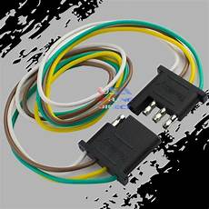 flat wire harness pin 4 pin trailer light wiring harness extension flat wire connector 2ft 24 quot ebay