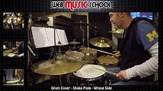 shaka ponk wrong side drum cover