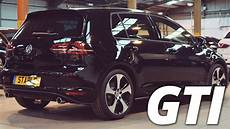 Golf 7 Gti Schwarz - 2016 volkswagen golf gti mk7 black walk around 2 0 tsi